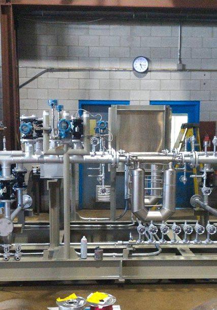 Liquid Sulfur Metering Skid