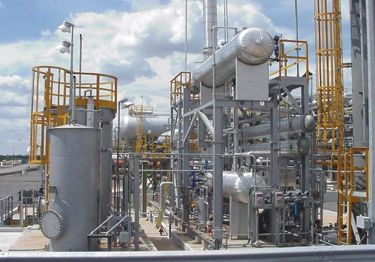 Plantas de deshidratación gaseosa de glicol (TEG)